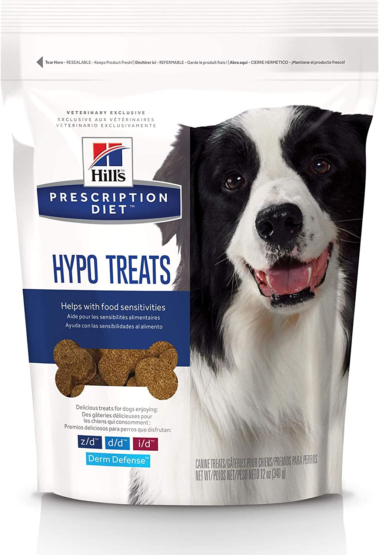 Hill's Prescription Diet Hypoallergenic Dog Treats, 12 Oz