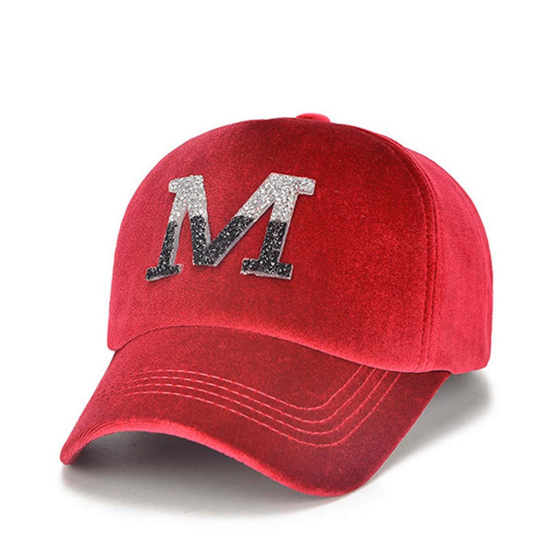 ANDERDM Fashion Baseball caps Women dad hat Women Hats Rhinestone Hip-hop hat Ladies Streetwear Cap
