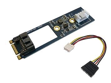 KALEA INFORMATIQUE Tarjeta controladora M.2 (NGFF), 1 Puerto SATA 3.0 para conectar un Disco Duro SATA a un Puerto M2