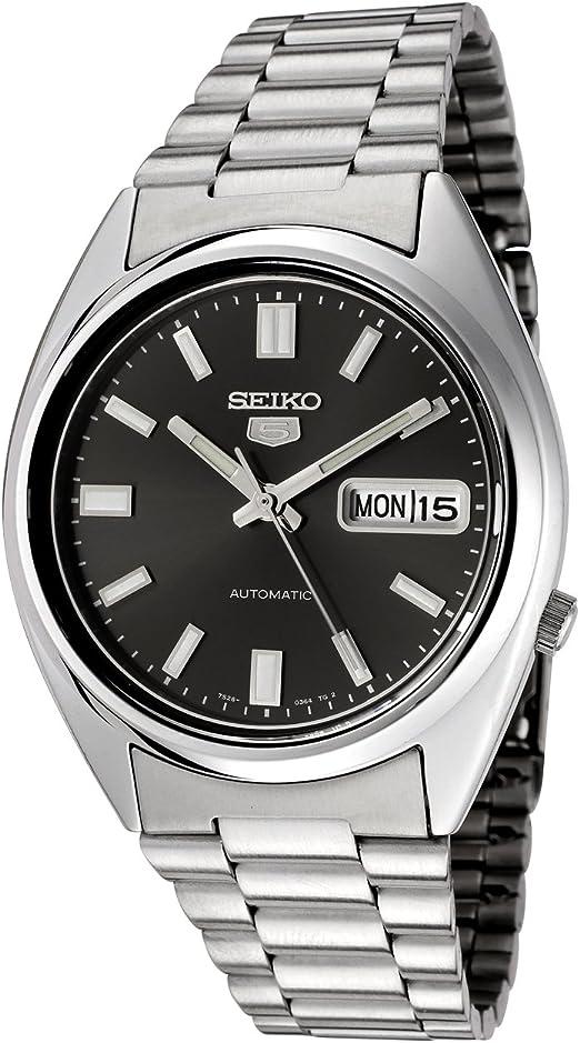 Amazon Com Seiko Men S Snxs79k Automatic Stainless Steel Watch Seiko Watches