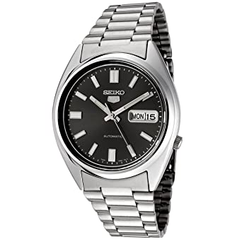d2a3df36e Seiko Unisex Analogue Quartz Watch with Stainless Steel Bracelet - SNXS79K