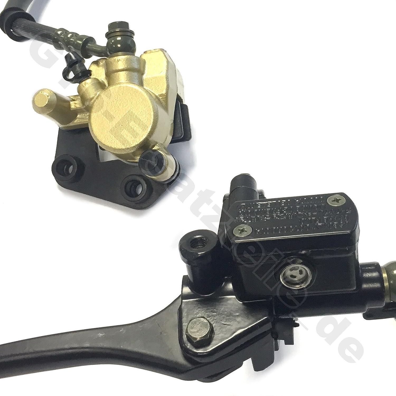 Freno Freno De Rueda –  Cable pinzas para sillí n –  Freno de frenos –  Freno delantero completo –  1 de pistó n acabado –  M8 Espejo grabac