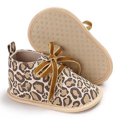 GEMVIE Zapatos Patucos De Bebé Unisex Primeros Pasos Antideslizante Invierno Rosa Longuitud de pie 12cm CTKdj