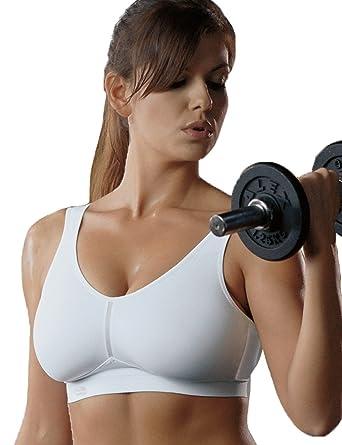 cab53473783 Amazon.com  Anita Sports Bra 5521 (White