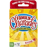 Family Charades Card Game by Outset Media - Travel Friendly Family Charades Game - Includes Over 300 Charades - Perfect for P