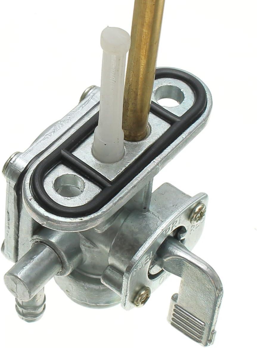 CALALEIE Conjunto de interruptor de v/álvula de grifo de combustible Petcock para 96-03 SUZUKI BANDIT GSF600S GSF1200 Piezas de decoraci/ón de motos nuevas