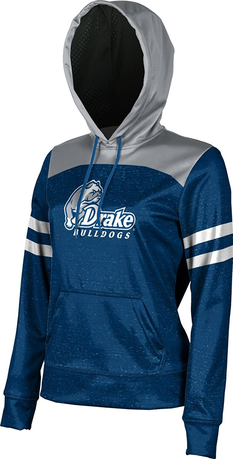 ProSphere Drake University Girls Zipper Hoodie Ripple School Spirit Sweatshirt