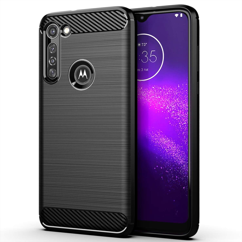 Funda Resistente Para Motorola G8 Power, Negra