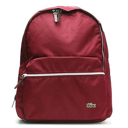 Lacoste Women Handbag - Bolso Mochila de material sintético mujer: Amazon.es: Zapatos y complementos