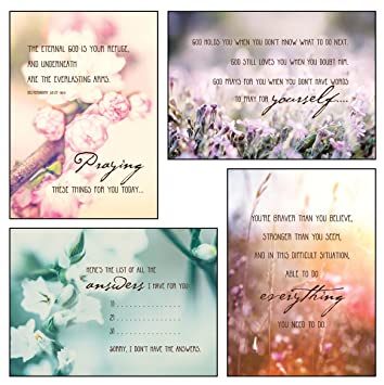 amazon com encouragement boxed cards love support 12 boxed