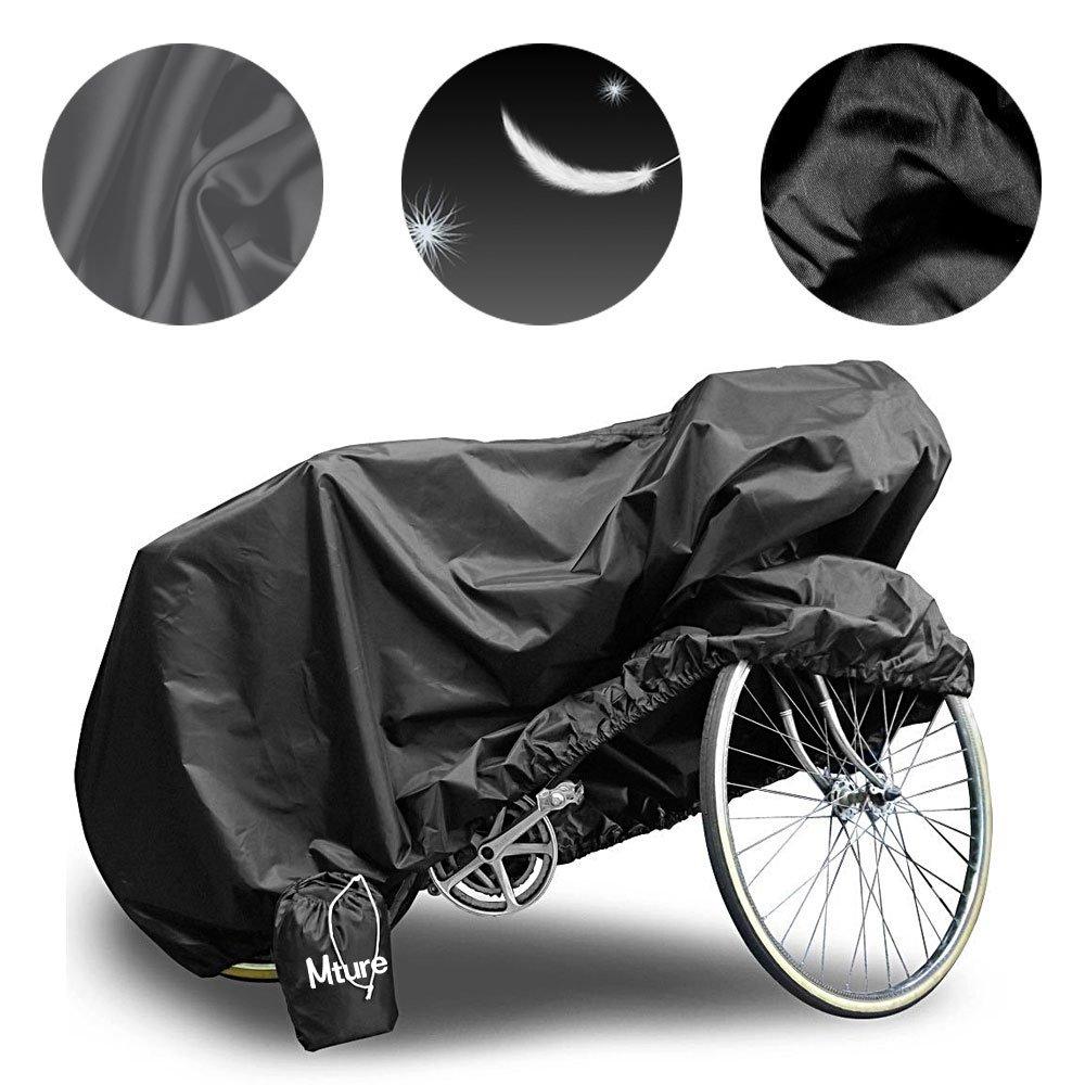 Mture fundas para bicicletas Impermeable Anti UV Cubierta para Bici cubre- bicicleta Protector contra Lluvia y Polvo para Bicicleta Motocicleta190x 65x98CM ...
