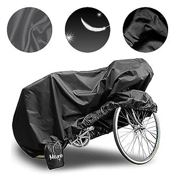 Mture Fundas para Bicicletas Impermeable Anti UV Cubierta para Bici Cubre-Bicicleta Protector contra Lluvia y Polvo para Bicicleta Motocicleta190x ...