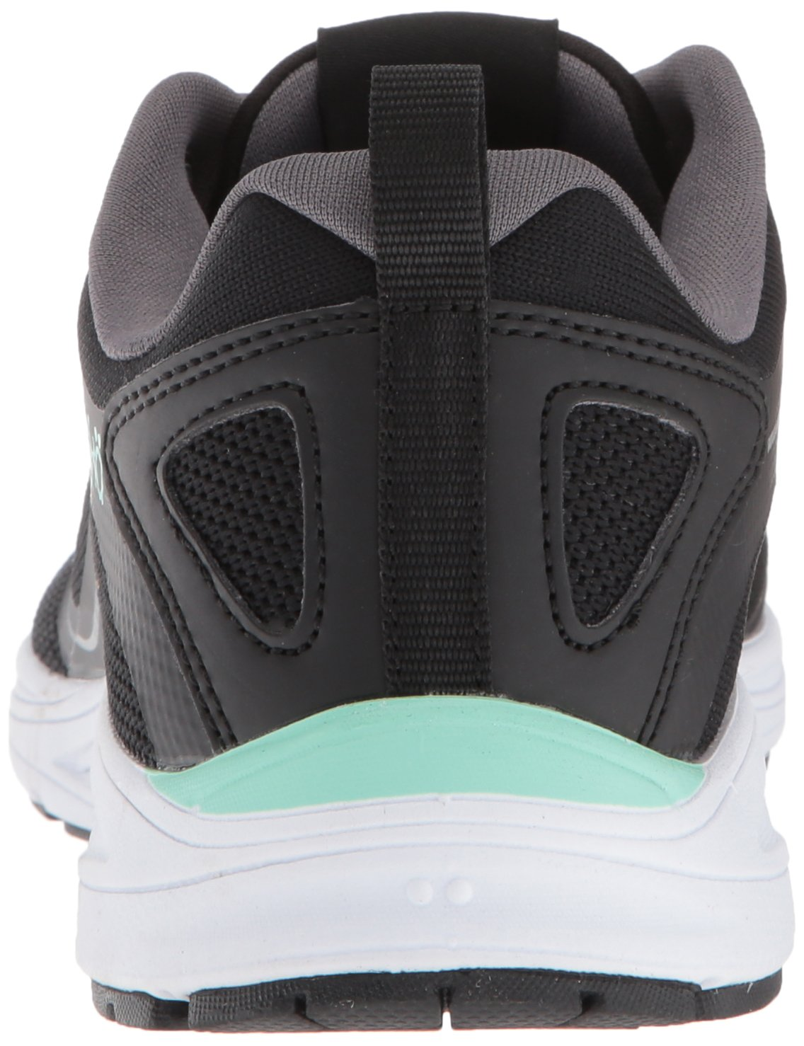 Ryka Women's Sky Bolt Walking Shoe B079ZC9VKT 6 W US|Black/Grey/Mint