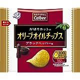 カルビー NATURALCalbeeオリーブオイルチップス ブラックペッパー味 37g×12袋