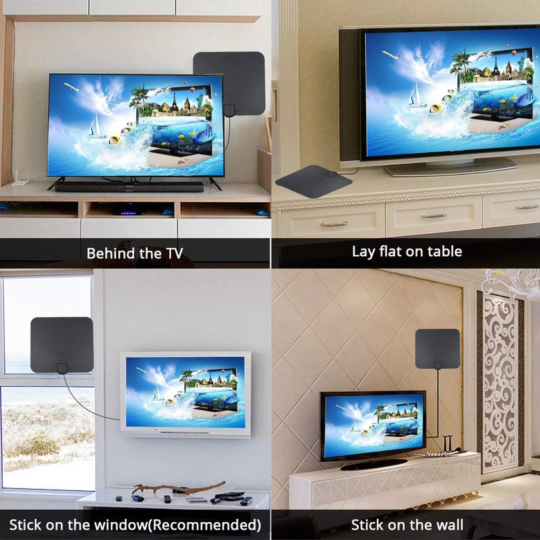Finmind Broadcast HDTV Antenna, TV Antenna HD VHF UHF Freeview ...