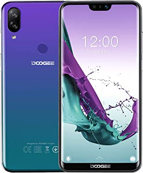 DOOGEE N10 Moviles Libres 4G, 19:9 5.84 Pulgadas FHD + Android 8.1 ...