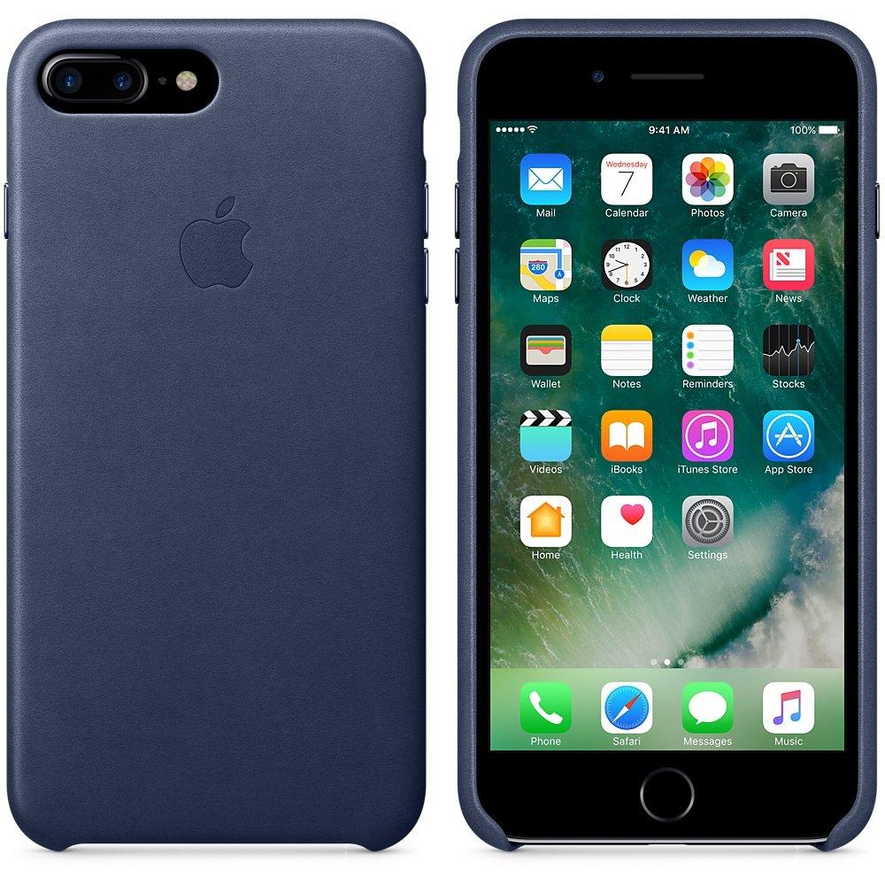 iphone 7 plus leather case blue