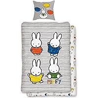 Parure de lit 2pièces Miffy Multicolore réversible 100%