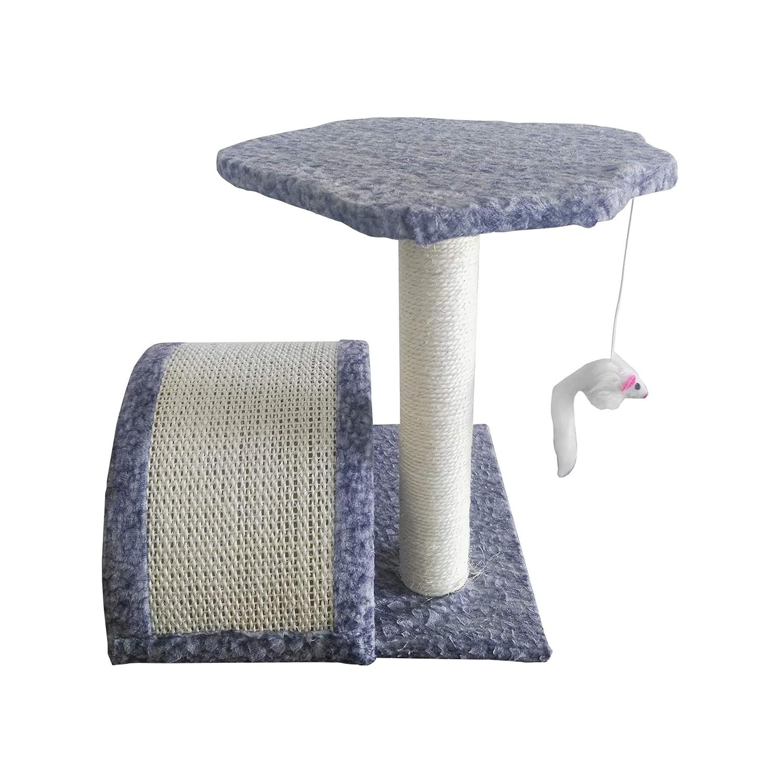 LuckyPet Juego Arból para Gato Blu con Ratón Peluche Sisal Peluche Gimnasio para Jugar (Cod. LU8048): Amazon.es: Productos para mascotas