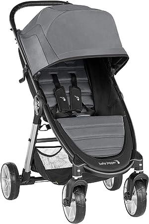 Oferta amazon: Baby Jogger City Mini 2 de 4 Ruedas Slate. Silla de paseo desde nacimiento hasta 22kg. Color gris