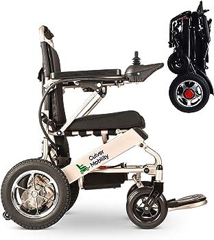 Culver Medical- New Electric Lightweight Folding Wheelchair