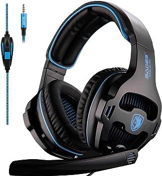 SADES SA810 Xbox One Headset Over Ear Stereo Gaming Headset Bass ...