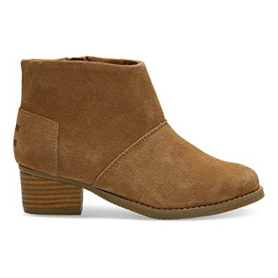 48134be7e09 TOMS Kids Girl s Leila (Little Kid Big Kid) Toffee Suede 1.5 M US