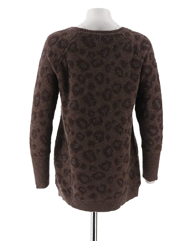 Edge Jen Rade Animal Jacquard Sweater A256657