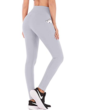 IUGA High Waist Yoga Pants with Pockets, Tummy Control, Workout Pants for  Women 4 029509128842