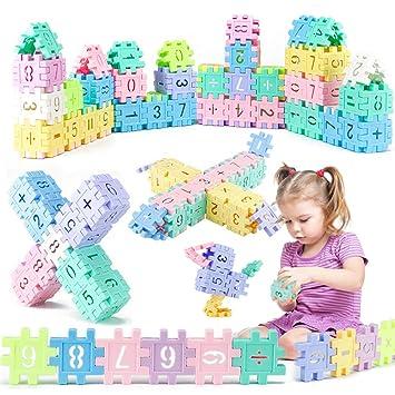 Jeu De Construction Puzzle 3d Enfants 110pcs Bloc Brique Cube De