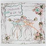 Hallmark - Biglietto di auguri, per matrimonio, decorazione 3D [in lingua inglese]