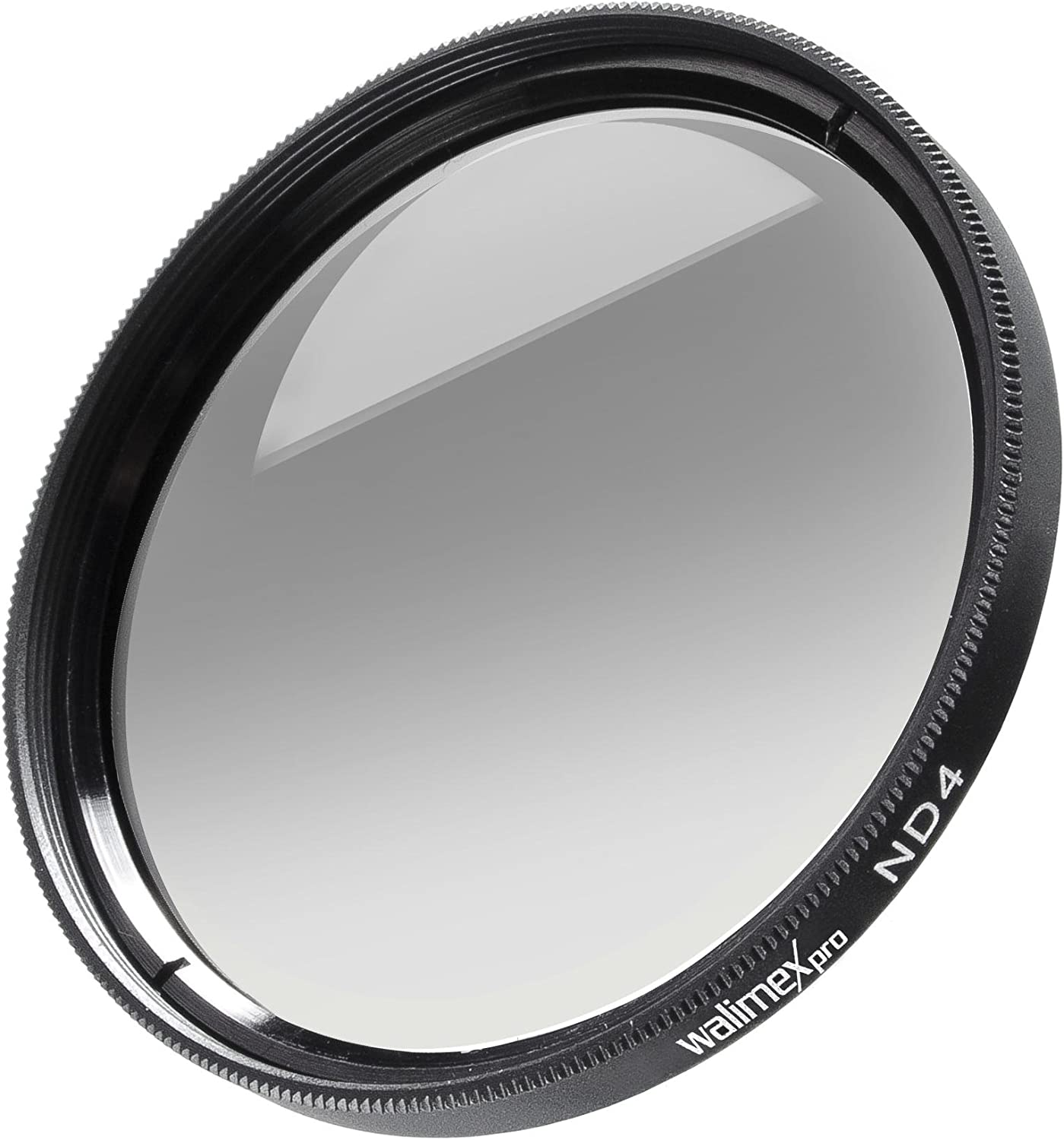 Grey walimex 46 mm ND4 Neutral Density Filter for Camera