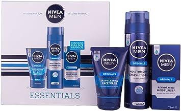 Nivea Men Essentials Gift Set for Men, 3 Pieces: Amazon.co.uk: Beauty