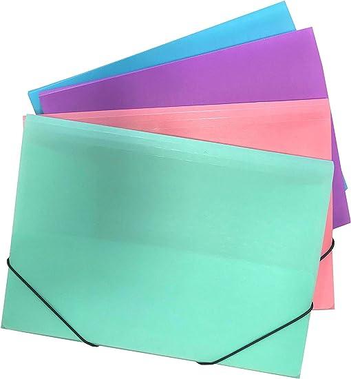 Ocean´s Wave OCW20059 - Pack de 48 carpetas, color pastel: Amazon ...