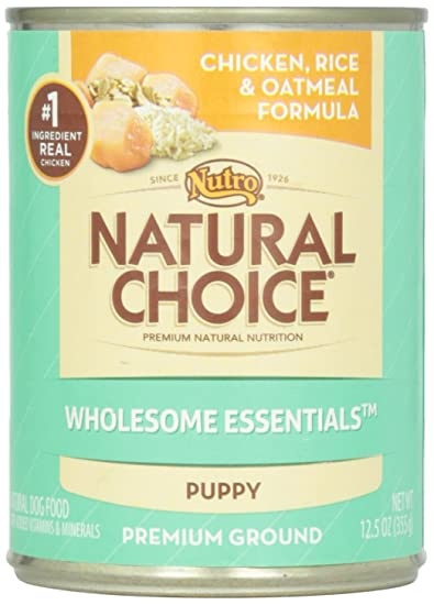 Natural Choice Puppy Chicken Rice Oatmeal 125 Oz Amazon