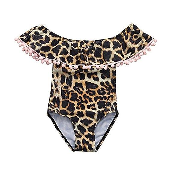 3b5eb8492d57 Queque Shine Bikini 2018, Estampado de Leopardo Sexy Traje de Baño ...