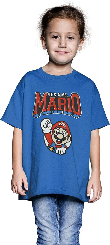Super Mario Charaktere Kinder /& Babies T-Shirt grau meliert