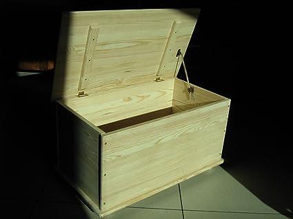 Baule Legno Fai Da Te : Homegarden baule cassapanca in legno per esterno interno giardino