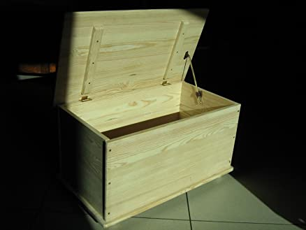 HOMEGARDEN Baule Cassapanca in legno per esterno interno giardino ...