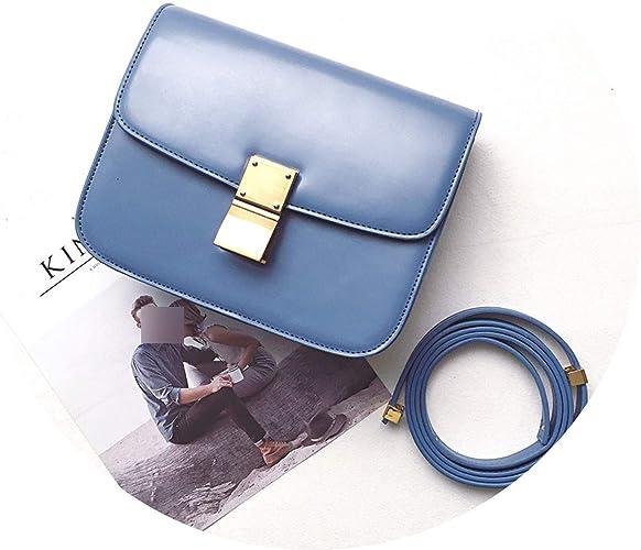 Women PU Leather Crossbody Flap Shoulder Satchel Messenger Purse Small Shape Bag