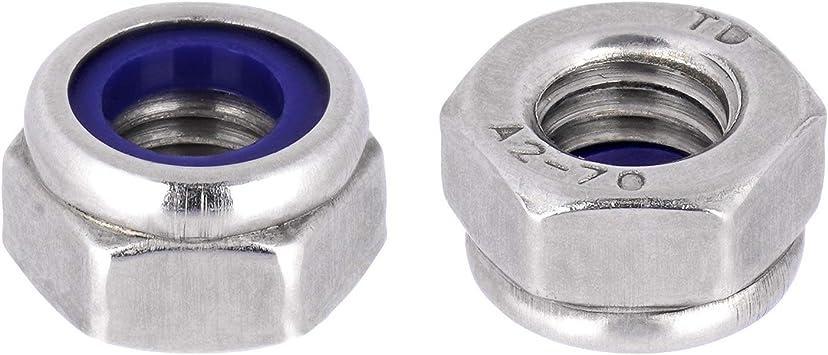 Sicherungsmuttern Klemmmuttern DIN 985 Edelstahl A2 V2A M3 x50