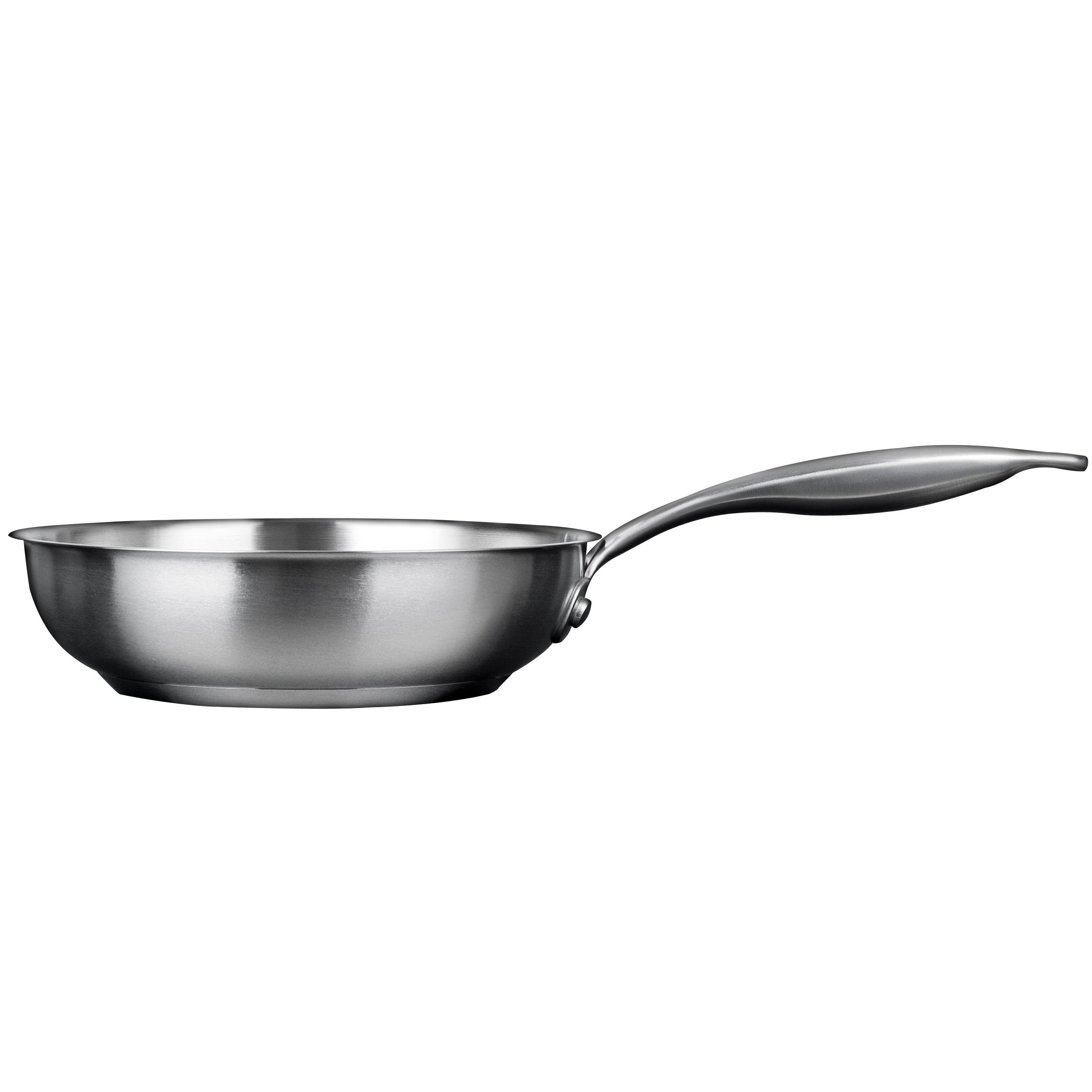 Duxtop Professional Stainless-steel Induction Ready Cookware Impact-bonded Technology (10'' Fry Pan)