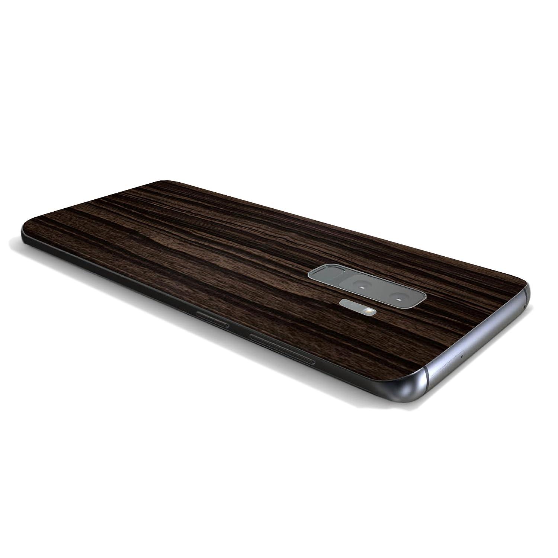 7 Layer Skinz Custom Skin Wrap Compatible with Samsung Galaxy S9+ Black Carbon Fiber
