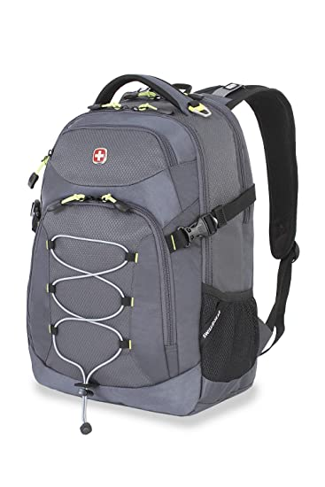 Amazon.com: Swiss Gear SA5960 Gray Laptop Backpack - Fits Most 15 ...