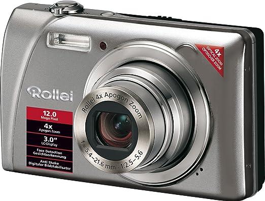 Rollei Flexline 200 Digitalkamera 3 Zoll Silber Kamera