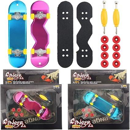 "5 pcs Tech Deck Finger Skate Boarding Mini Skateboard Toy 3.8/"" Random Pattern"