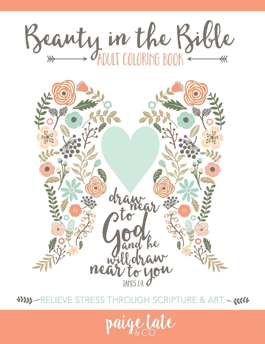Image for Beauty in the Bible: Adult Coloring Book