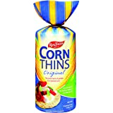 Real Foods Corn Thins Original 150 g (Pack of 6)