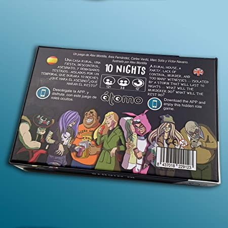 Átomo Games 10 Nights! Juego de Mesa: Amazon.es: Juguetes y juegos