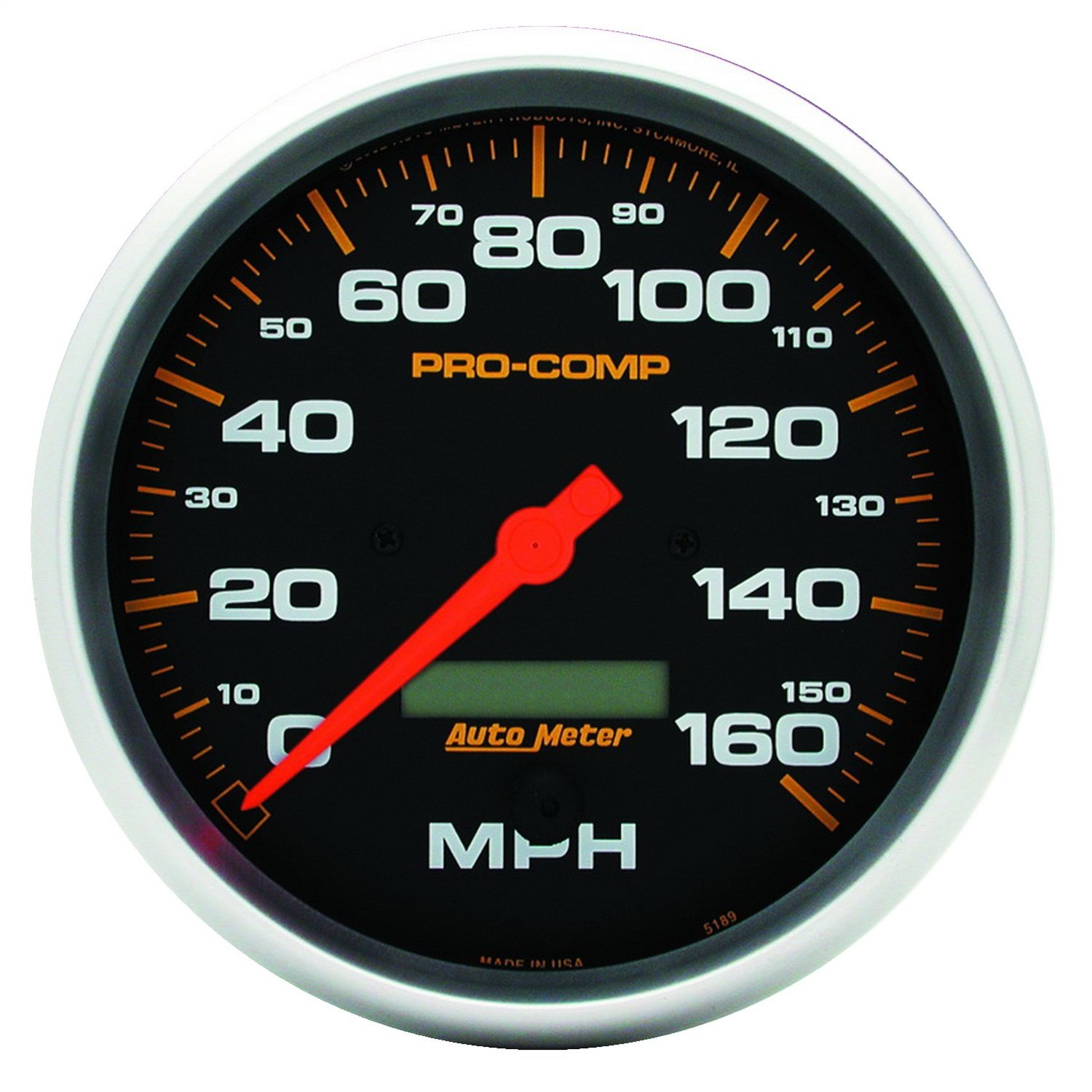 Auto Meter 5189 Pro-Comp Electric in-Dash Speedometer by AUTO METER